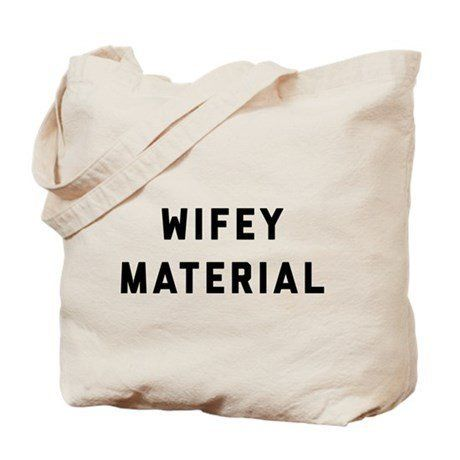 "Get it <a href=""https://www.cafepress.com/+the_bachelor_wifey_material_tote_bag,182023075"" target=""_blank"">here</a>."