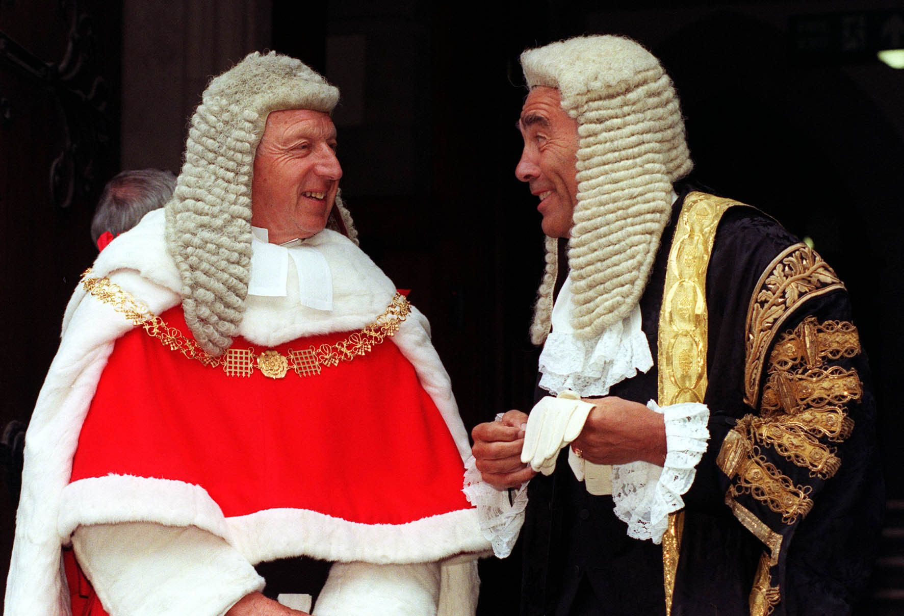<strong>Lord Chief Justice Woolf (left) recommends the tariff be reduced to eight years</strong>