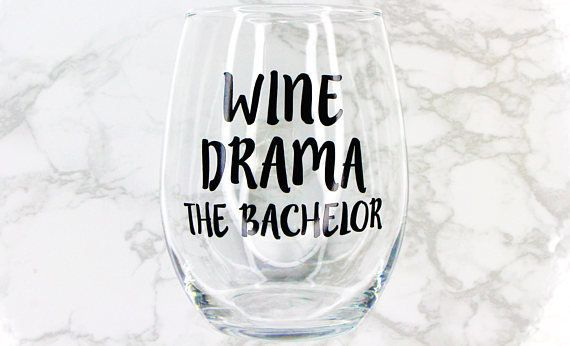 "Get it <a href=""https://www.etsy.com/listing/566887868/wine-drama-the-bachelor-stemless-wine?ga_order=most_relevant&ga_se"
