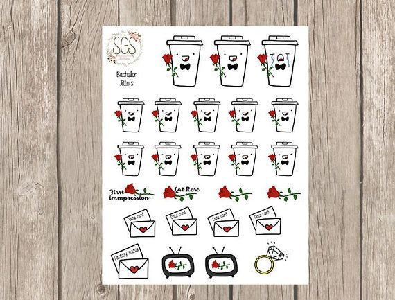 "Get them <a href=""https://www.etsy.com/listing/585746095/the-bachelor-coffee-planner-stickers?ga_order=most_relevant&ga_s"