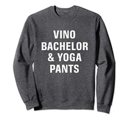 "Get it <a href=""https://www.amazon.com/Bachelor-Yoga-Shirt-Bachelorette-Vintage/dp/B078Y44HKJ/ref=sr_1_6?amp=&ie=UTF8&keyword"