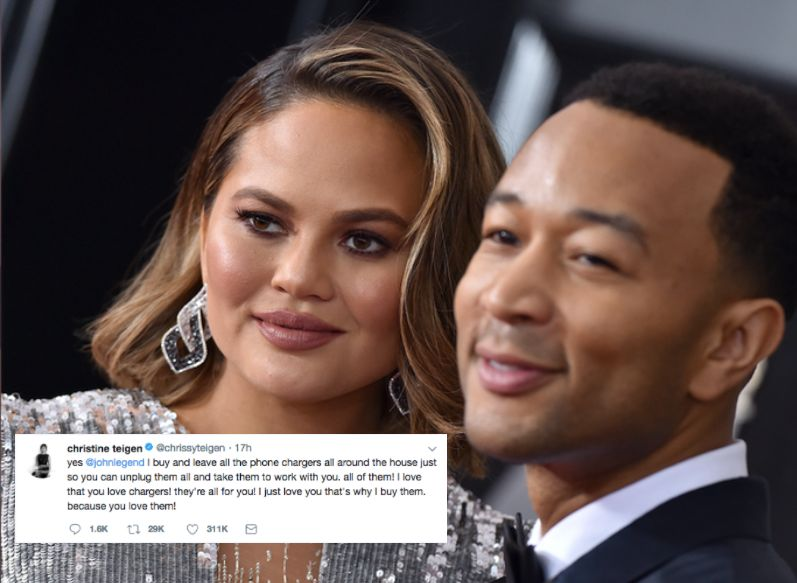 Chrissy Teigen's Complaint About John Legend 'Is Marriage Summed Up In One