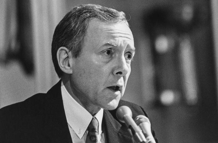Sen. Orrin Hatch (R-Utah) in 1991.