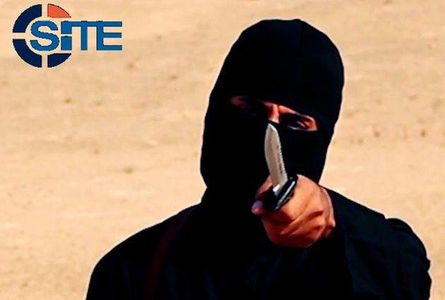 A masked, black-clad militant, identified asMohammed Emwazi (