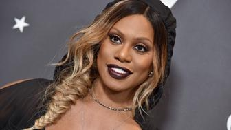 HOLLYWOOD, CA - JANUARY 18:  Actress Laverne Cox arrives at the Lip Sync Battle LIVE: A Michael Jackson Celebration at Dolby Theatre on January 18, 2018 in Hollywood, California.  (Photo by Axelle/Bauer-Griffin/FilmMagic)