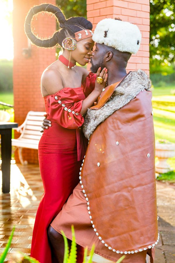 """I shot this traditional Kikuyu tribal wedding in Nairobi, Kenya. I captured a quiet moment when the couple forgot that"
