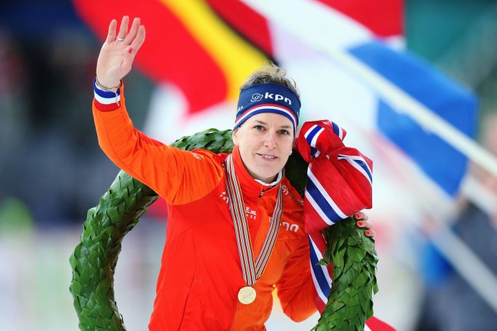 Ireen Wüst of the Netherlands won more medals than any athlete in any sport at the Sochi Games in 2014.