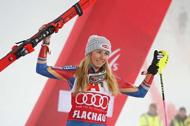 American skier Mikaela Shiffrin became the youngest Olympian to win gold in alpine skiing in