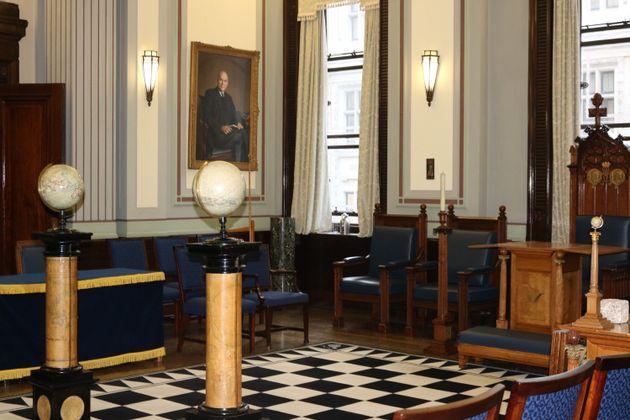 A room where Freemason morality tales are