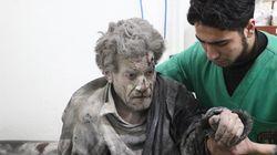 시리아 정부군 폭격으로 나흘 만에 민간인 228명이