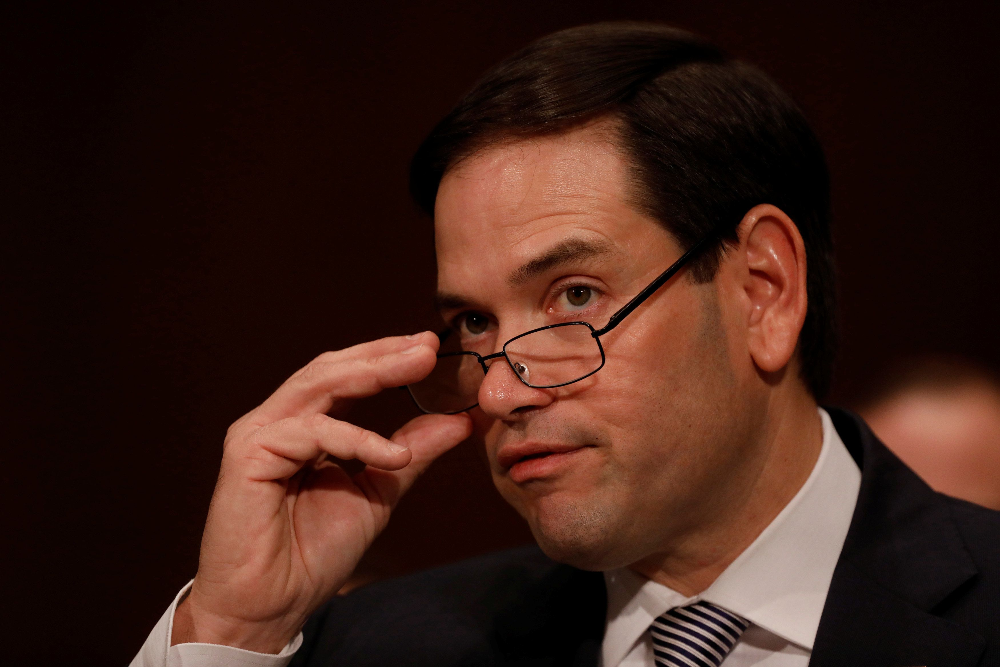 Rubio Dismisses Report About Dem Senator Attempting to Contact Dossier Author