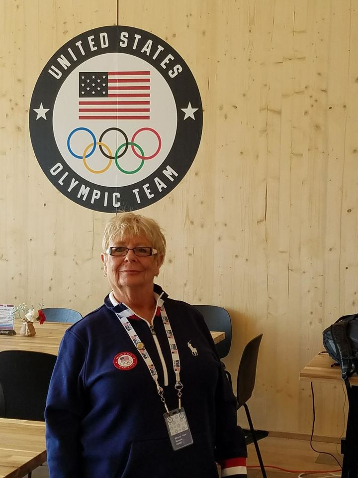 Sherry Von Riesen, the U.S. Olympic team mom.
