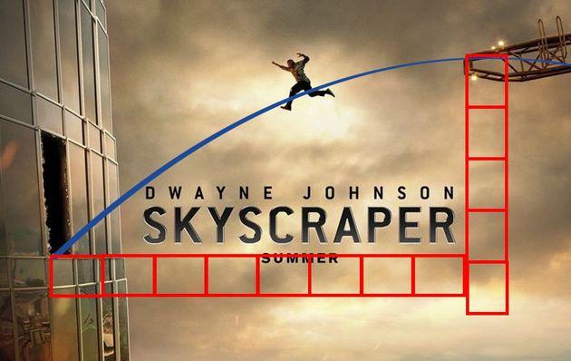 전 세계 이과들이 영화 포스터 속 낙하속도를 계산해 불가능을