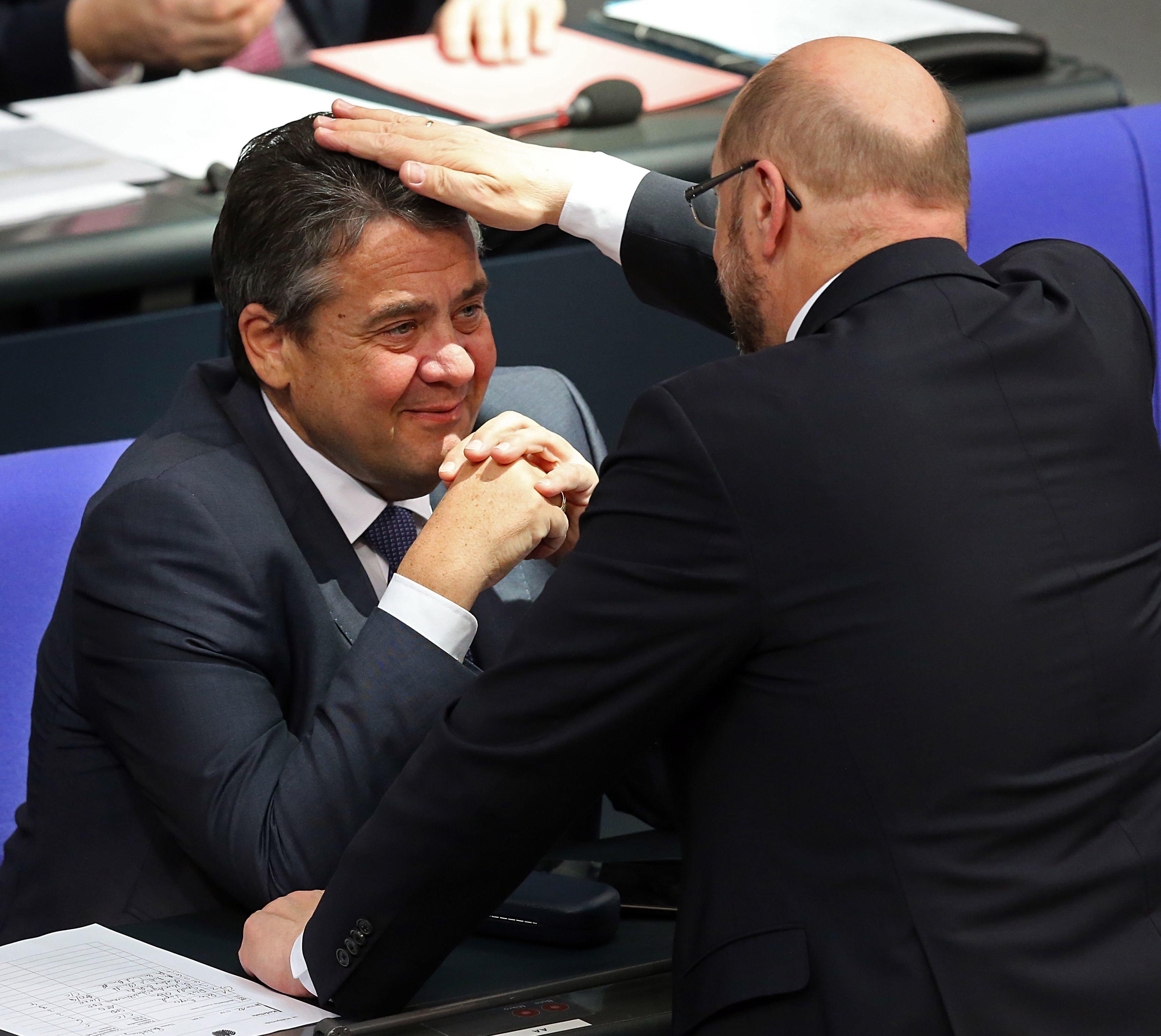 Gabriel gegen Schulz: Wie Freunde zu Gegnern wurden