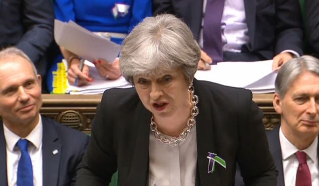 Theresa May issued a written clarification after PMQs this