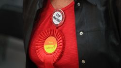 Placards And Rosettes In The Face Of A