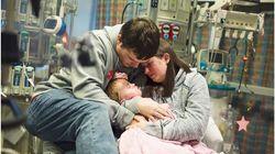 Bewegende Fotos: 2-Jährige stirbt, während sie auf neues Herz wartet