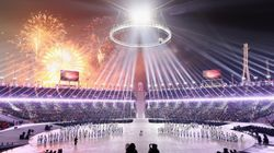 The Most Dazzling Moments From The 2018 Winter Olympics Opening Ceremony