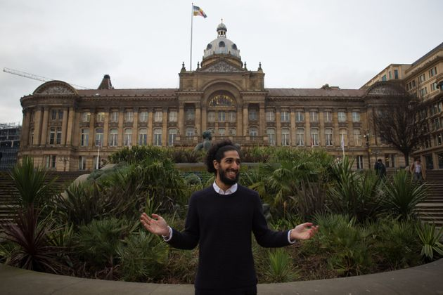 Sunny Sangha: 'Power flows in the world the way water flows in the canals of Birmingham, not very