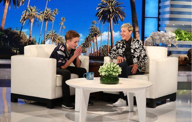 Ryan McKenna, aka Selfie Kid,was onEllen DeGeneres'