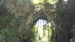 Κατέρρευσε το «Θεογέφυρο». Ένα μοναδικό φυσικό φαινόμενο με ζωή αιώνων πάνω από τα νερά του ποταμού Καλαμά των