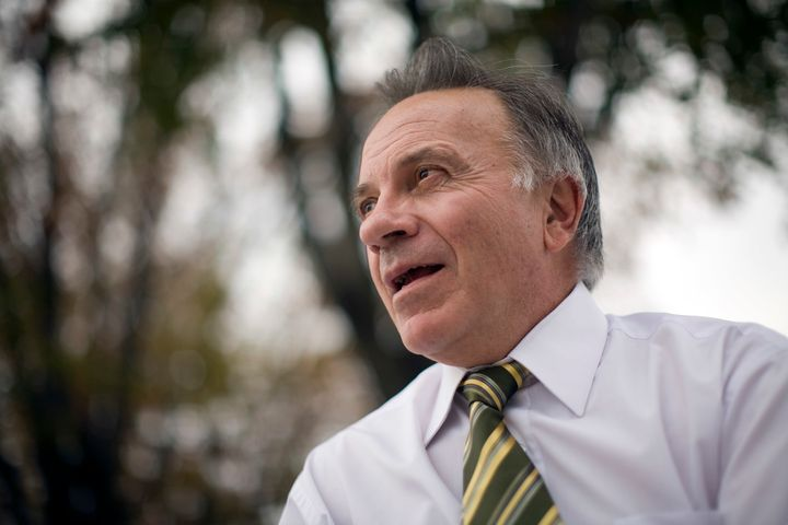 Then-Rep. Tom Tancredo (R-Colo.) is seen in Washington, D.C., Oct. 23, 2007.