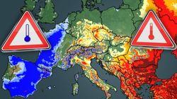Winter spielt verrückt: Blutregen über Balkan, sibirische Kälte in