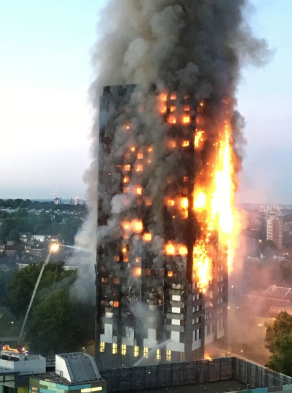 Seventy-one people died in the Grenfell Tower