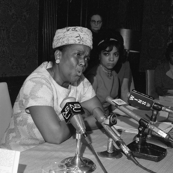 Ella Baker speaks her truth in 1968.