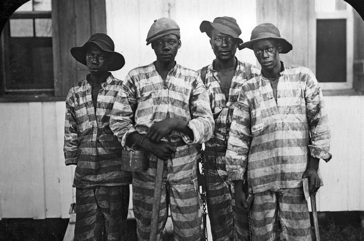 "Convicts leased to harvest timber in Florida around 1915 (via <a rel=""nofollow"" href=""https://www.wdl.org/en/item/4016/"" targ"