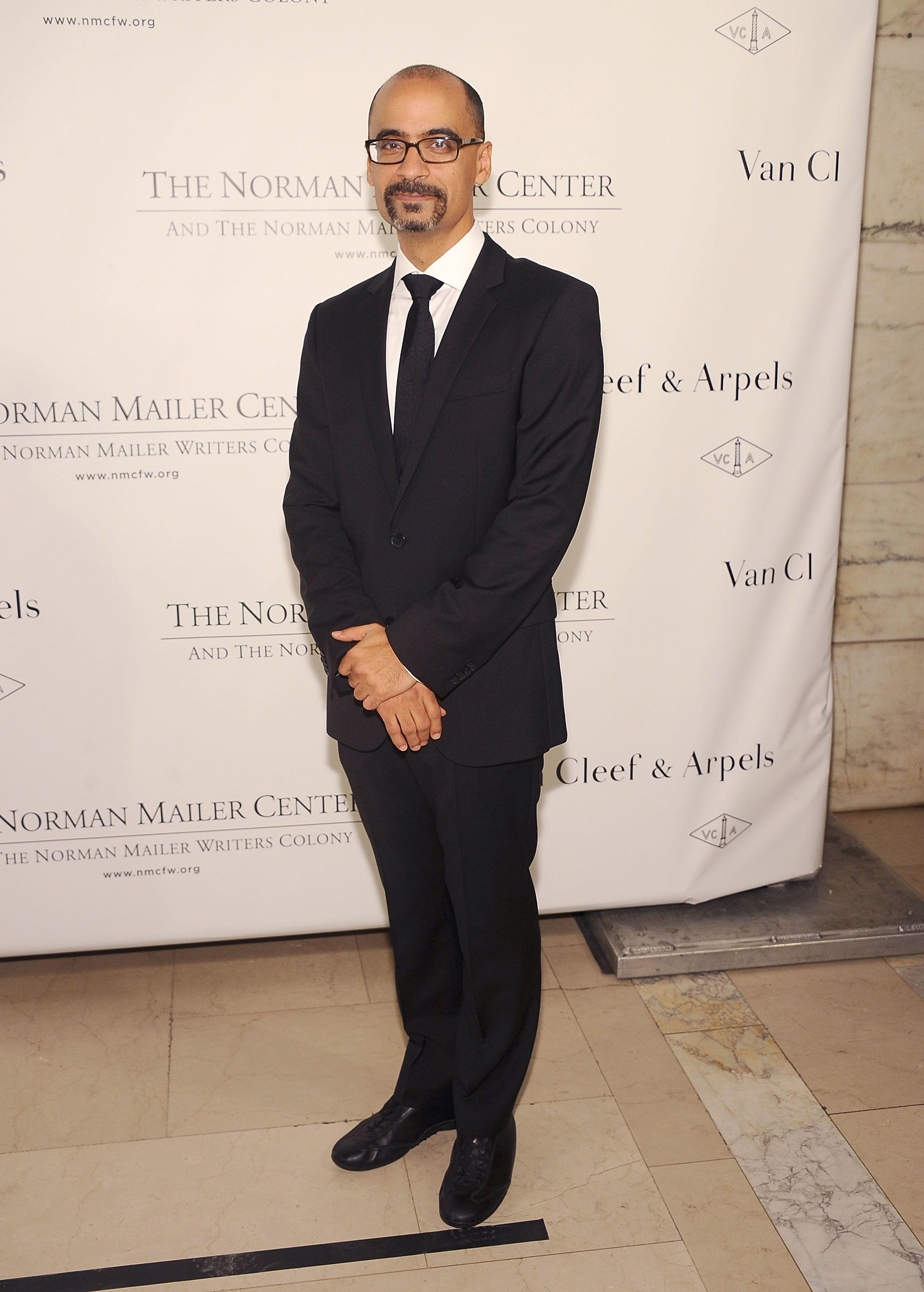 NEW YORK, NY - OCTOBER 17:  Event honoree, author Junot Diaz attends the 2013 Norman Mailer Center Gala at New York Public Library on October 17, 2013 in New York City.  (Photo by Gary Gershoff/WireImage)