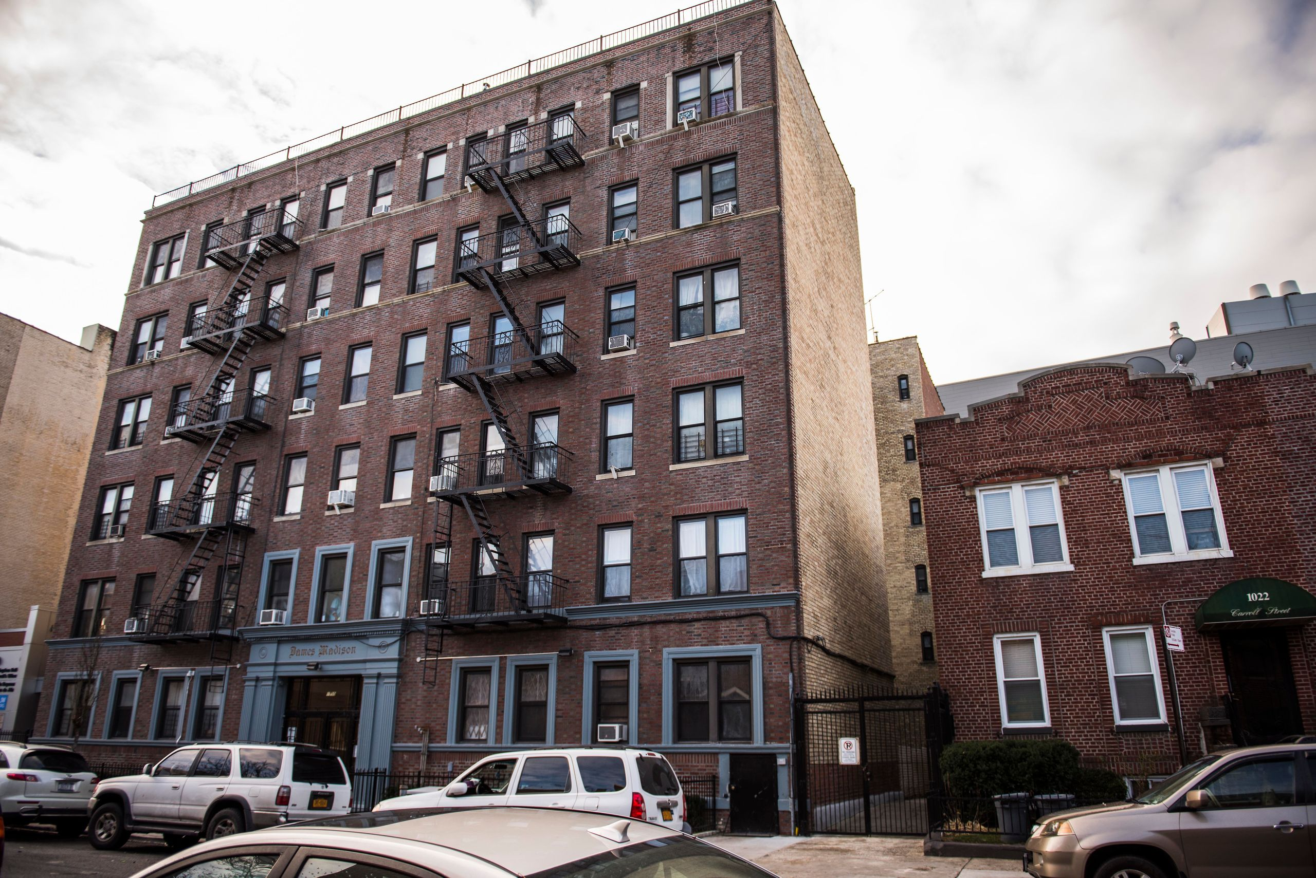 The building at 1030 Carroll Street, in Crown Heights, has been a source of health and housing controversy since landlord&nbs
