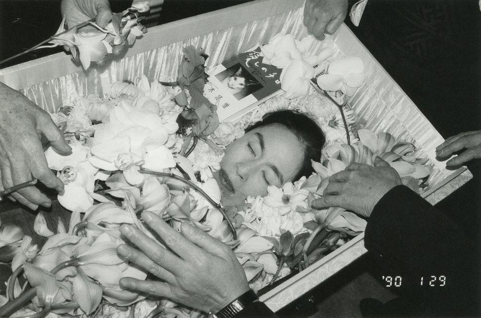 "Nobuyoshi Araki, ""Winter Journey,"" 1989-90/2005. Gelatin silver print."
