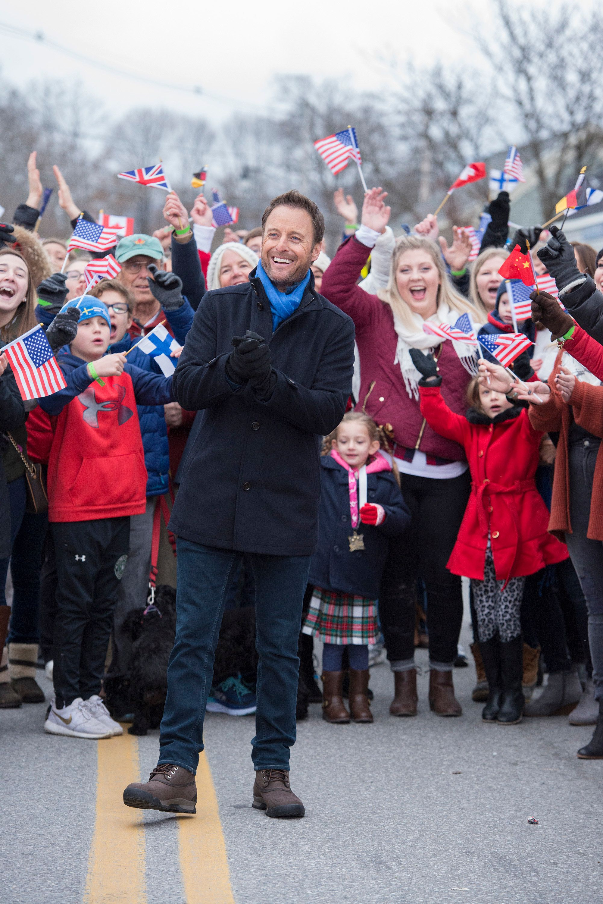 "Chris Harrison hosts ""The Bachelor Winter Games."""