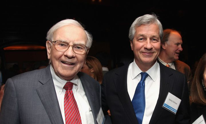 Warren Buffett and Jamie Dimon,CEOs of Berkshire Hathaway and JPMorgan Chase, respectively, say they arejoining f