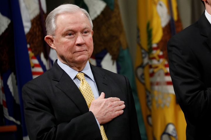 United States Attorney General Jeff Sessions