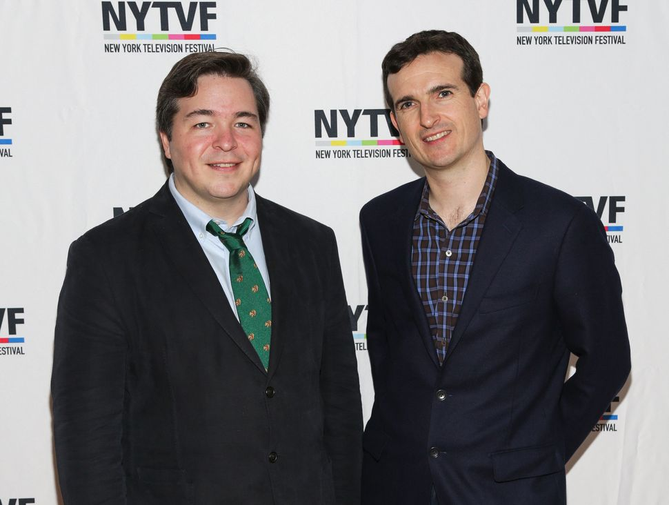 Creators of 'How I Met Your Mother' Carter Bays (L) and Craig Thomas attend the 12th Annual New York Television Festival held