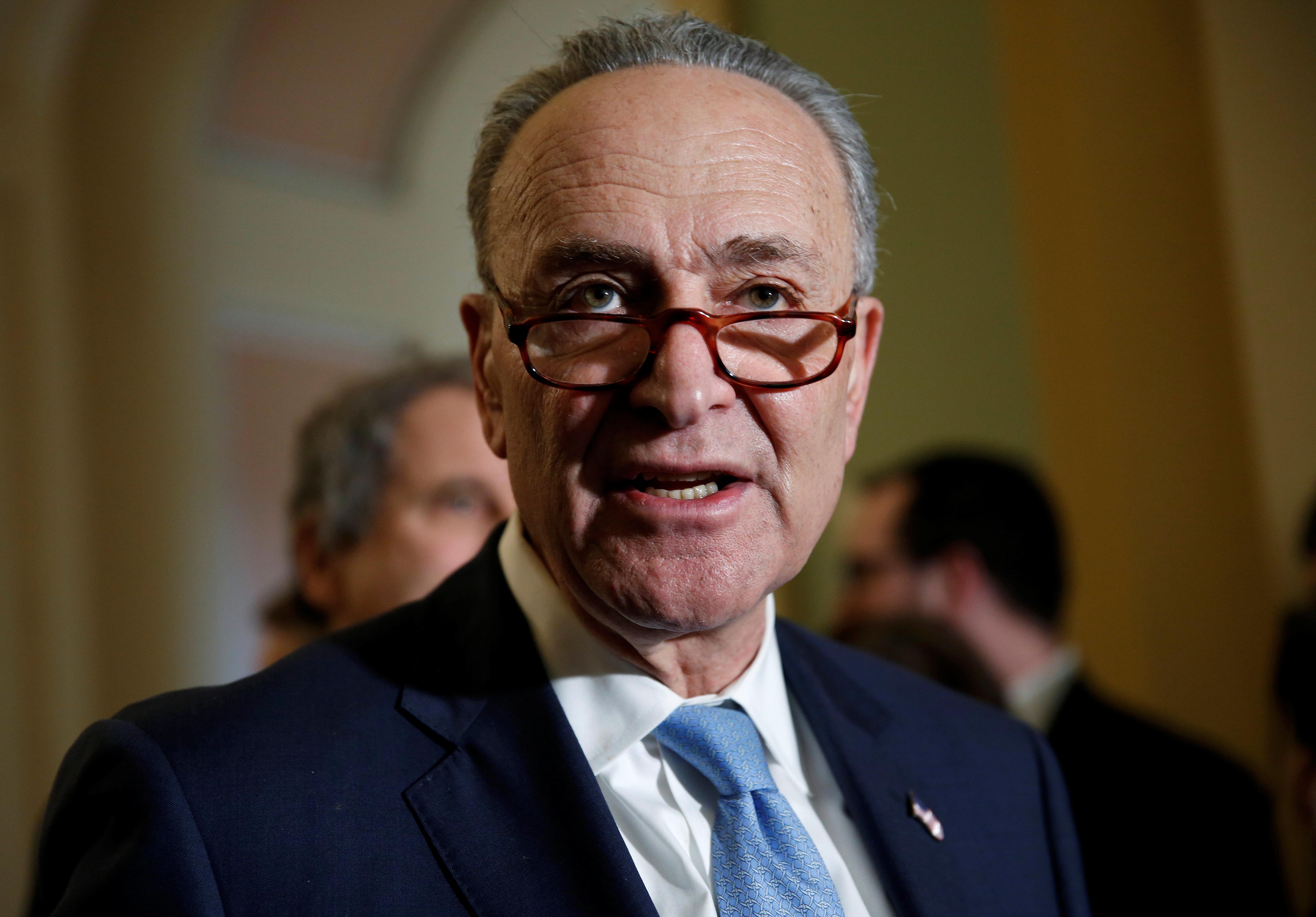 Senate Minority Leader Chuck Schumer (D-N.Y.).