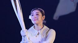 김연아가 평창올림픽 개회식 성화 점화 소감을