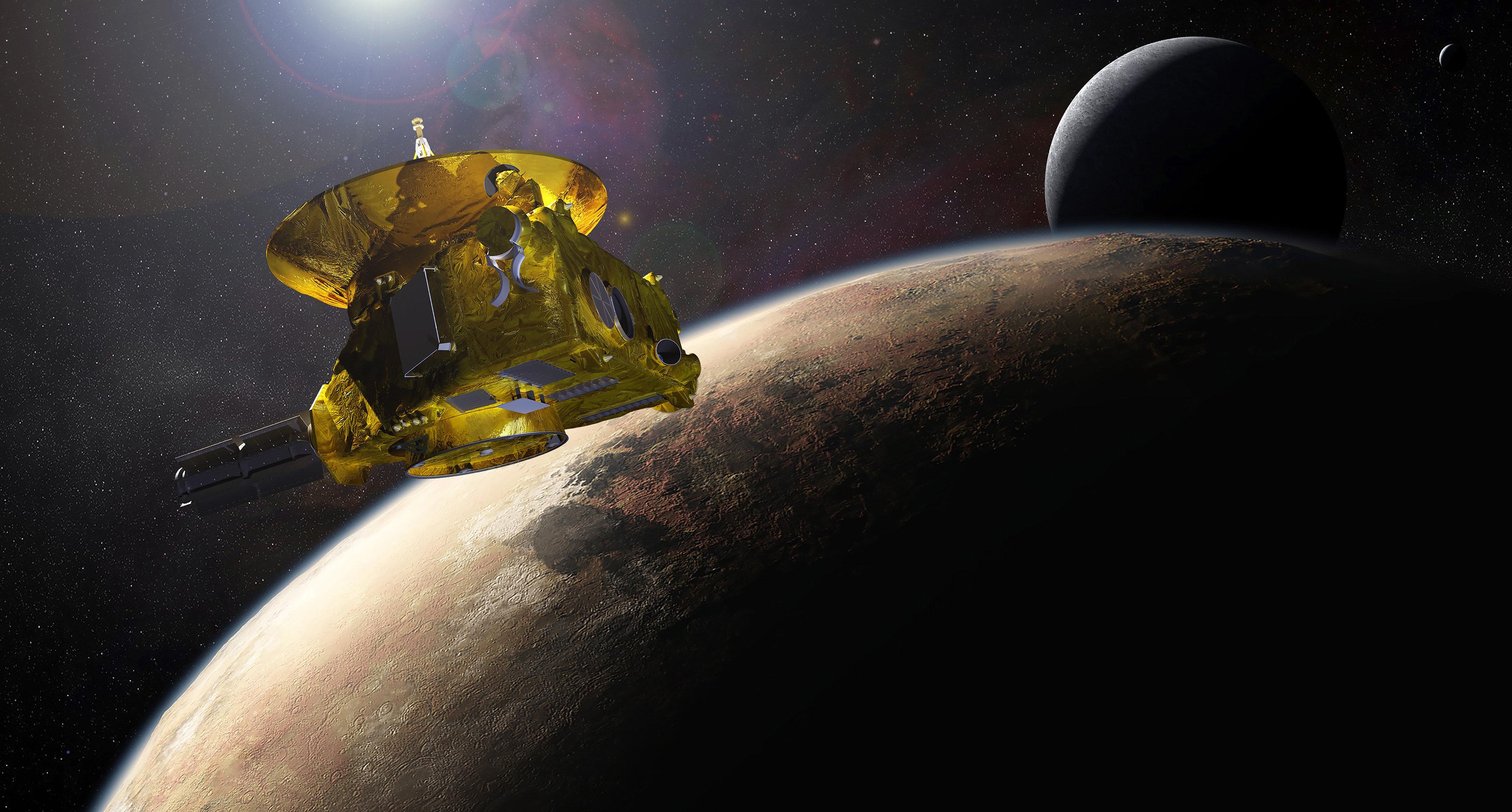 Το διαστημικό σκάφος New Horizons σπάει το ρεκόρ τραβώντας τις πιο μακρινές από τη Γη
