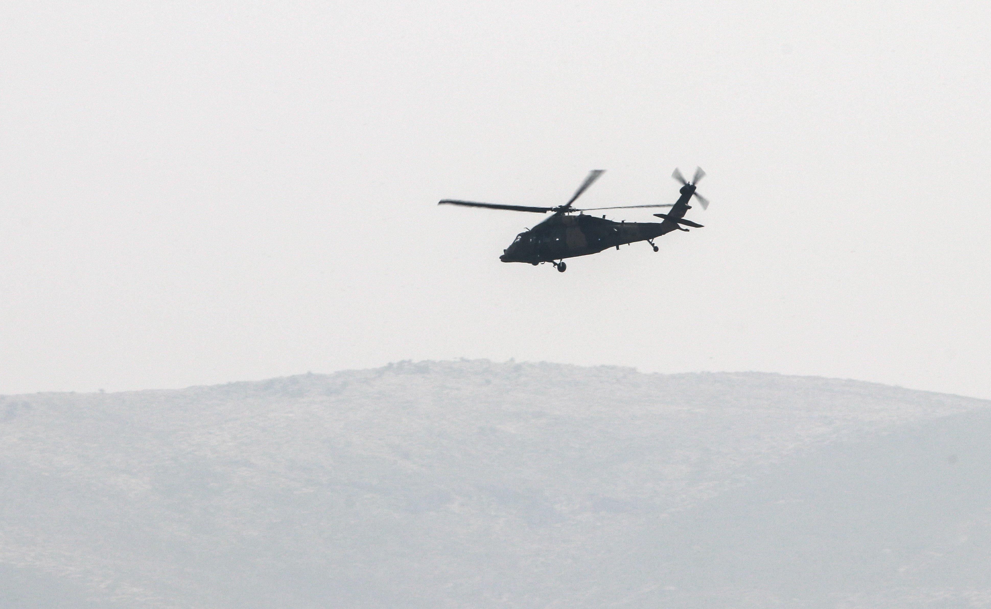 Καταρρίφθηκε τουρκικό στρατιωτικό
