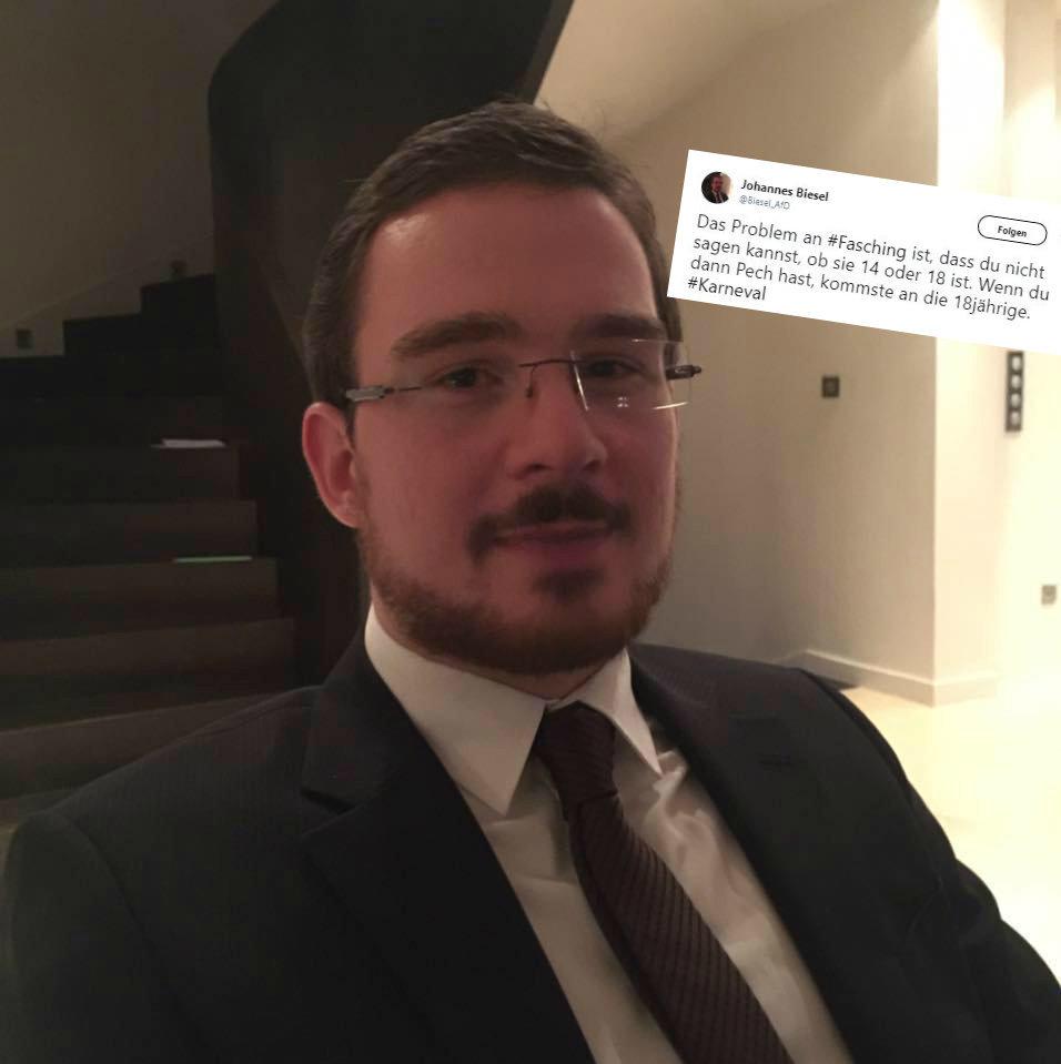 AfD-Politiker fantasiert in einem Tweet über Sex mit 14-Jährigen
