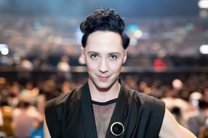 Johnny Weir says he's just doing his job.