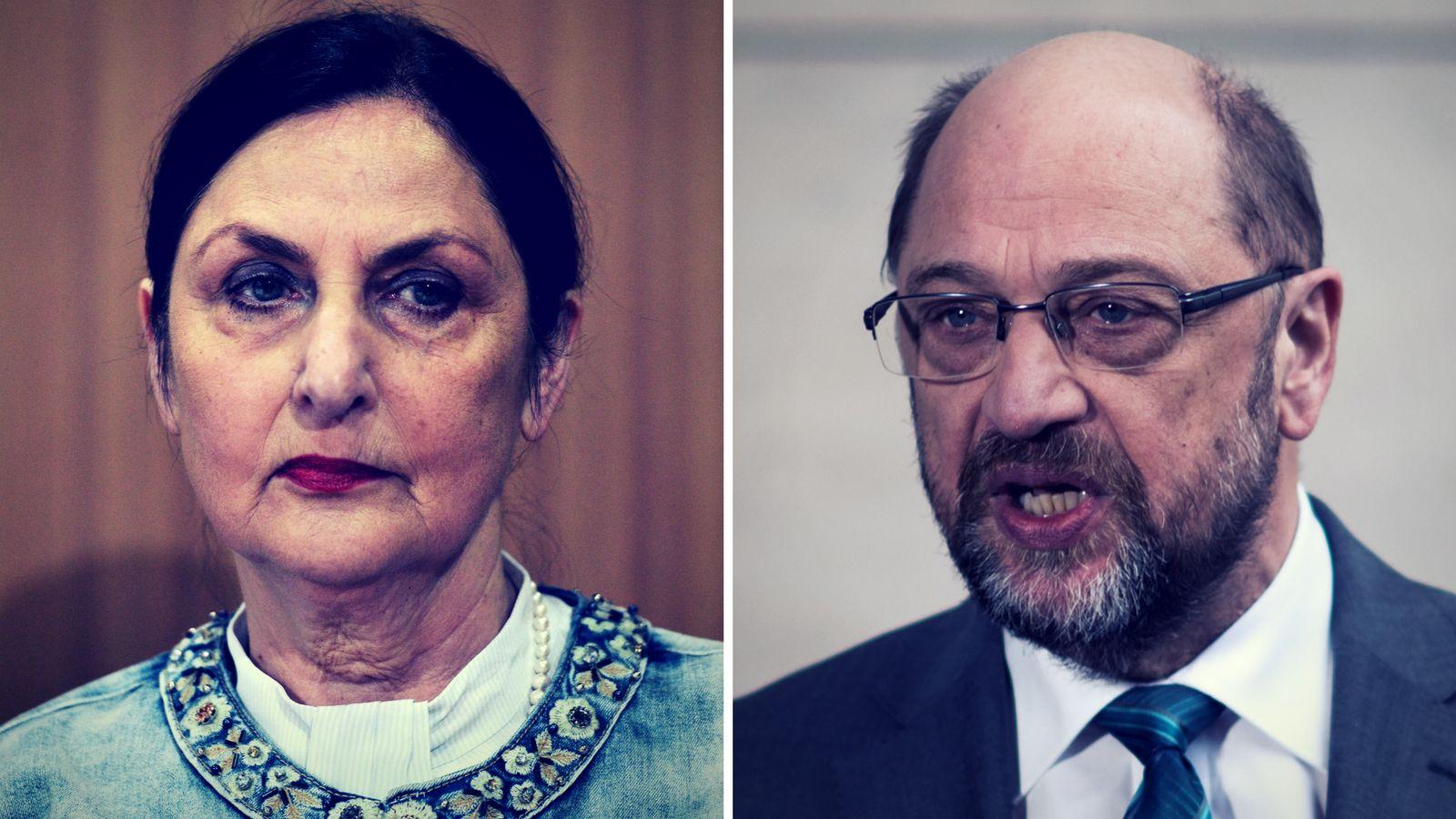 """""""Schlangengrube"""": Martin Schulz' Schwester rechnet mit SPD-Führung"""
