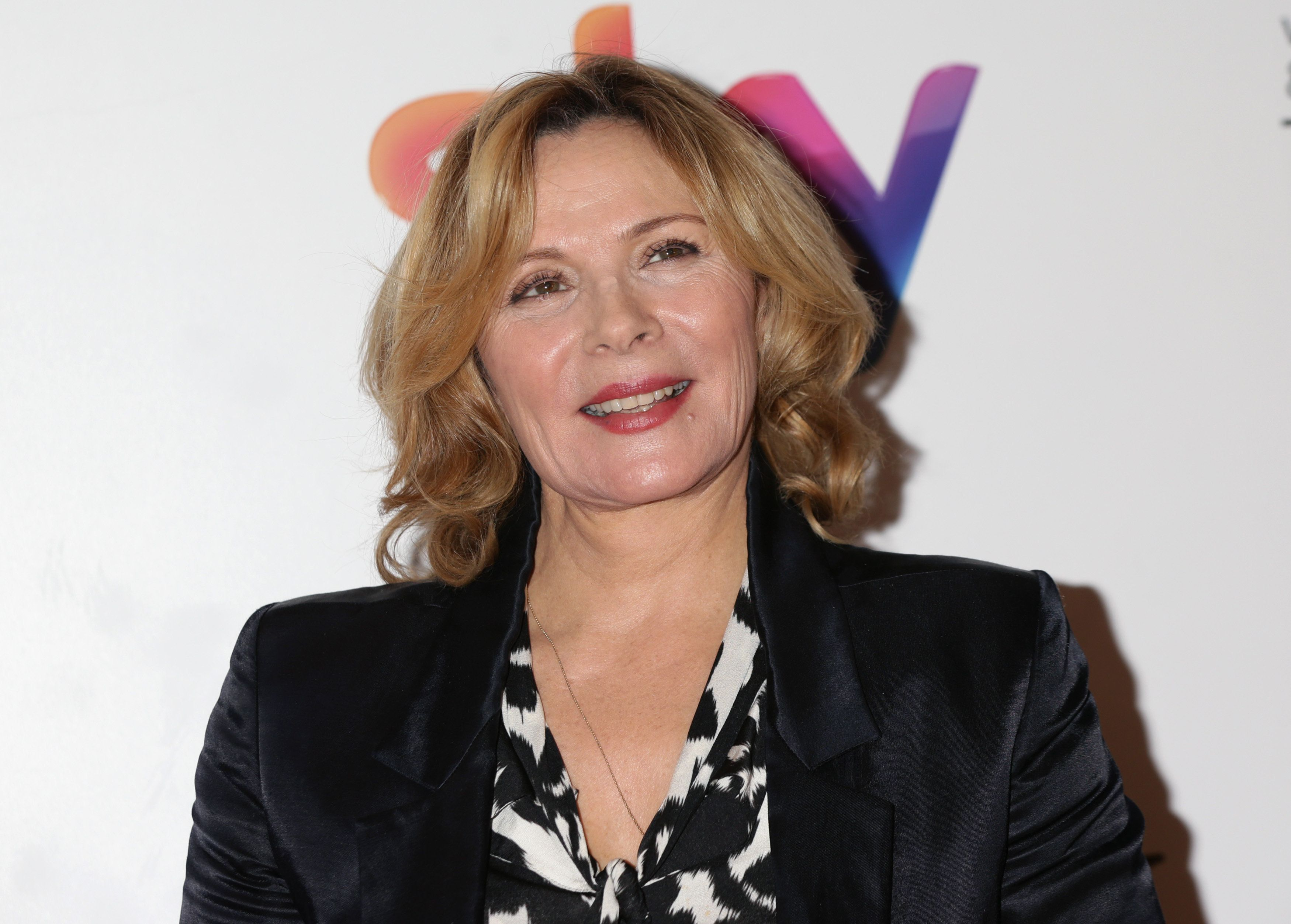 Kim Cattrall arrives at the Women in Film & TV Awards at the London Hilton Park Lane hotel in London. (Photo by Yui Mok/PA Images via Getty Images)