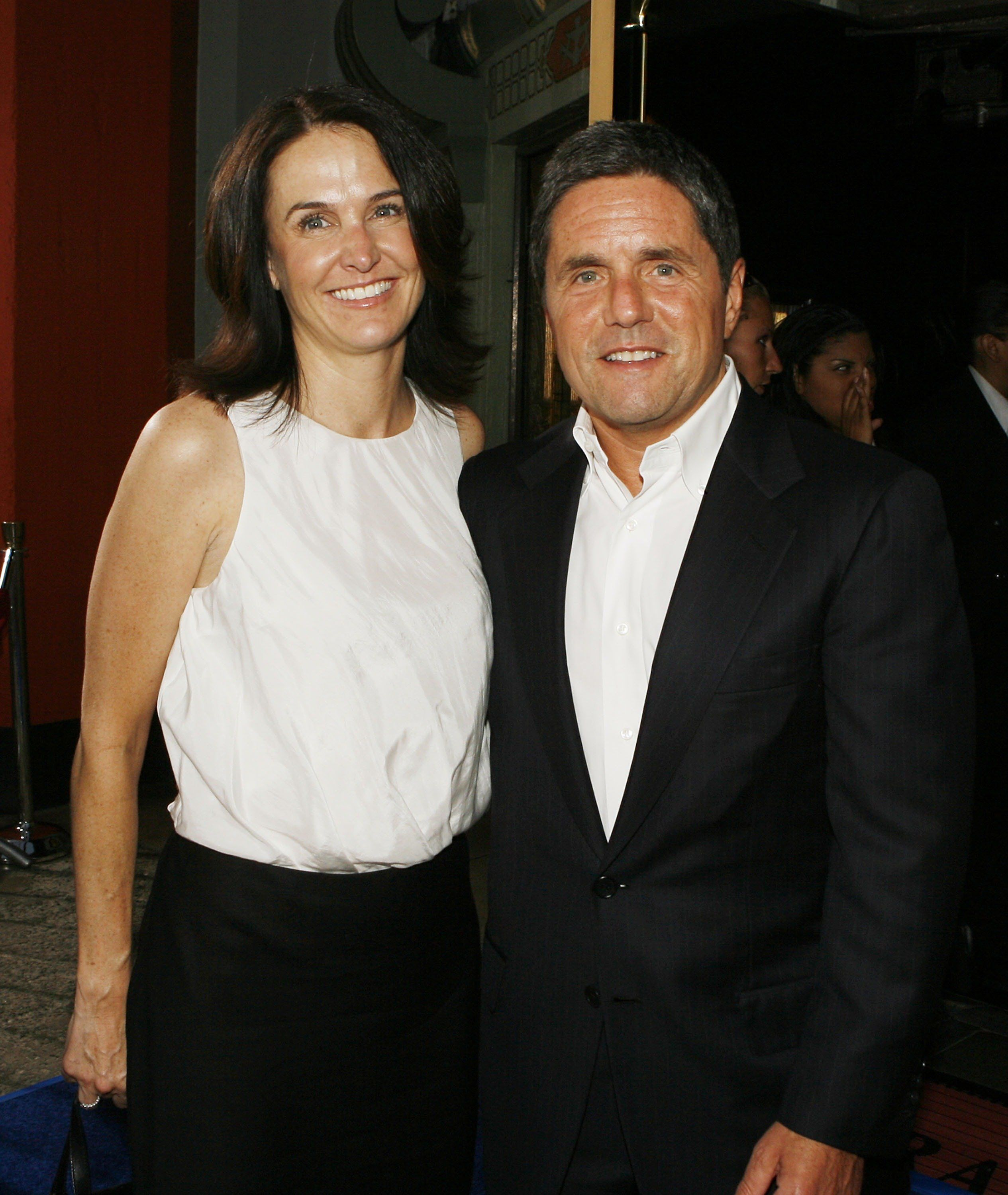 LOS ANGELES - JULY 26:  Exec. Prod. Jill Messick and Paramount's Brad Grey pose at the premiere of Paramount Picture's 'Hot Rod' at the Chinese Theater on July 26, 2007 in Los Angeles, California. (Photo by Kevin Winter/Getty Images)