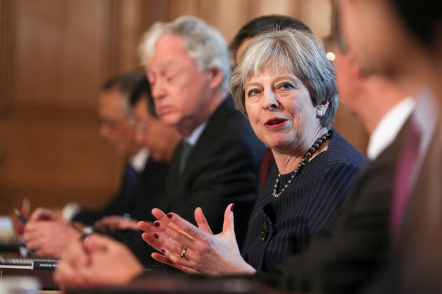 Theresa May is due to make big interventions in the Brexit