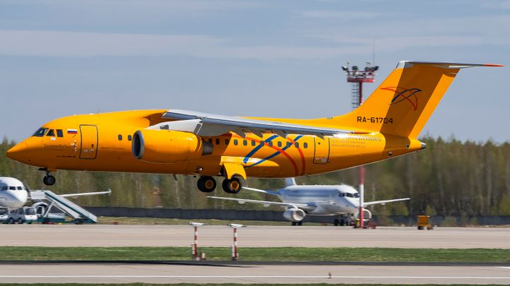 The Saratov Airlines airplane crashed in the Moscow region on Sunday.