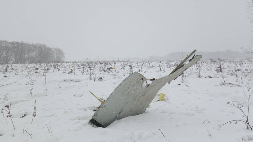 71 People Feared Dead After Russian Plane Crashes Near