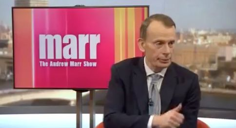Andrew Marr's Editor Says On-Air Thumbs-Up To Tory Minister Was 'Polite And